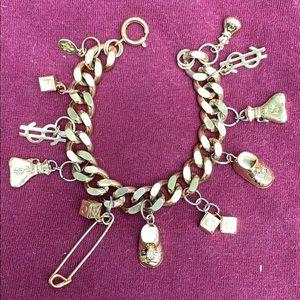 Vintage Kirks Folly Million Dollar Baby bracelet